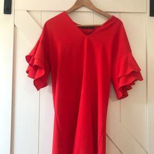 Zara Dresses - ZARA red tunic